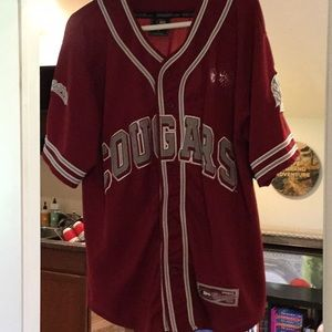WSU Cougars baseball jersey